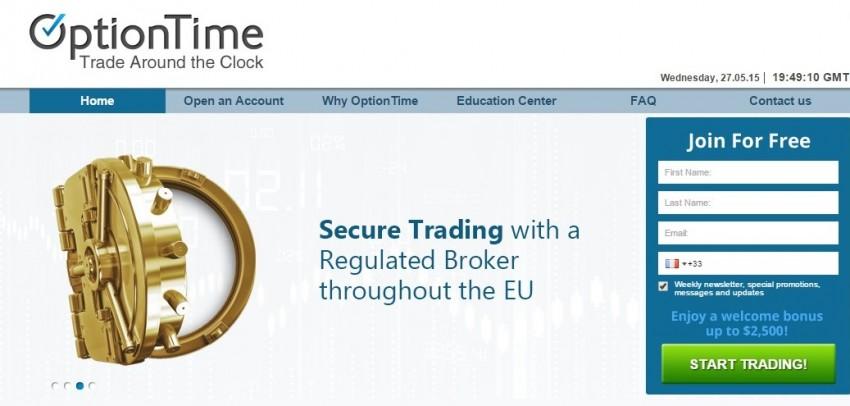 Option Time Binary Options Broker