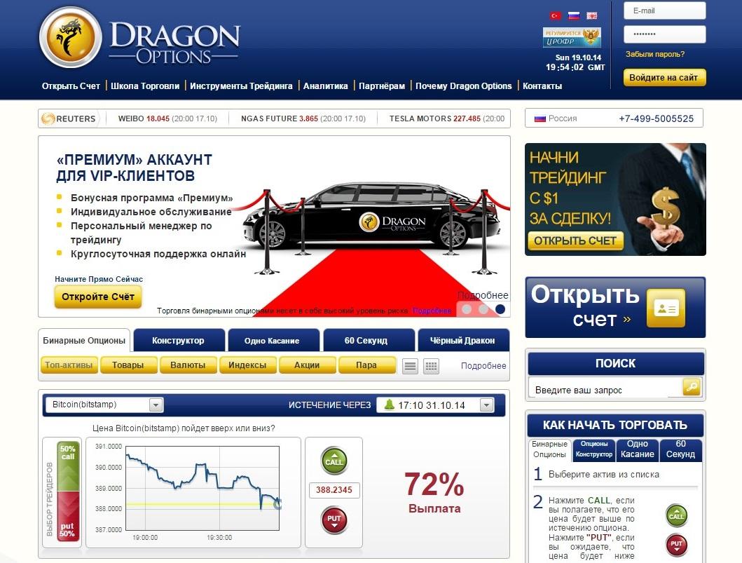 broker DragonOptions