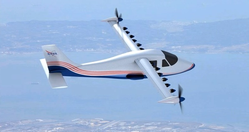 электрический самолет maxwell