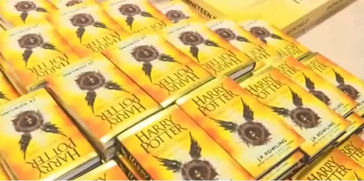 новая книга о гарри поттере