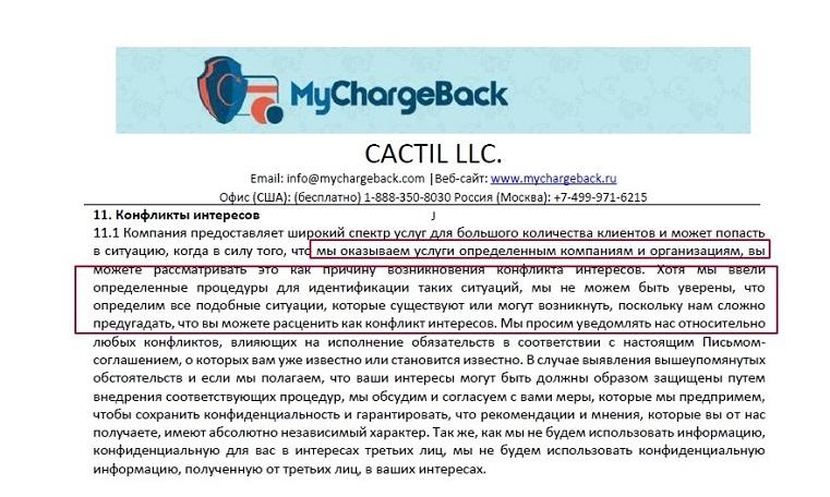 Правда о Cactil LLC